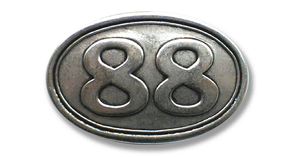 88 OVALE Buckles
