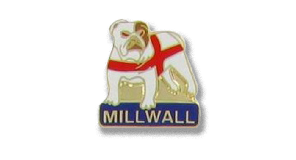 MILLWALL BULLDOG Pins & Stickers
