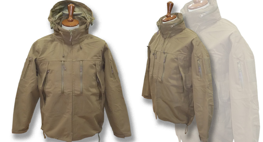 SOFTSHELL JACKET COYOTE