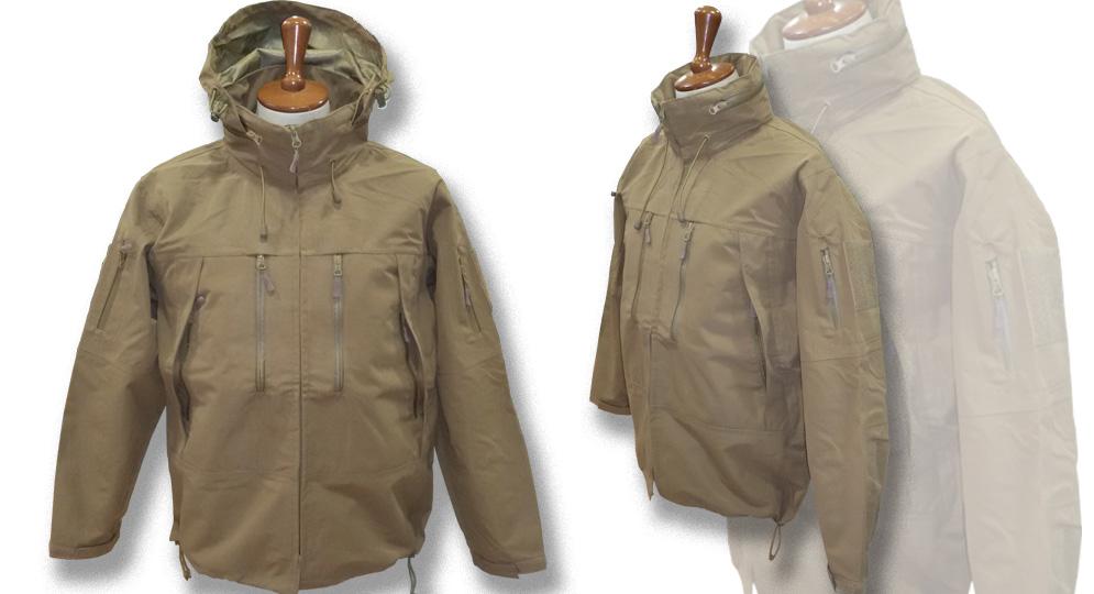 SOFTSHELL JACKET COYOTE Jackets