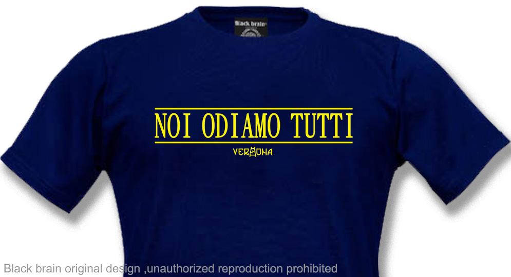 NOI ODIAMO TUTTI T-shirts