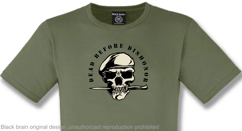 DEAD BEFORE DISHONOR T-shirts