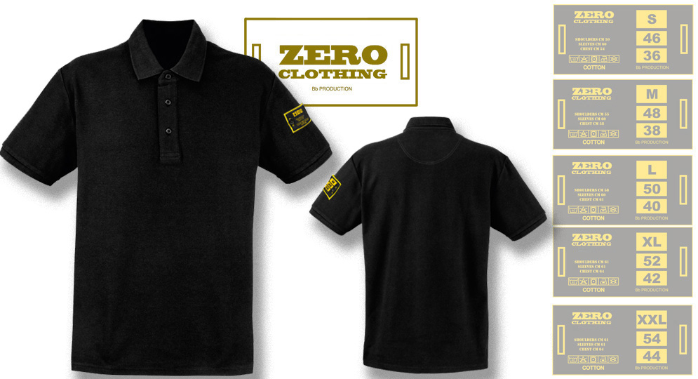 POLO BLACK Zero Clothing