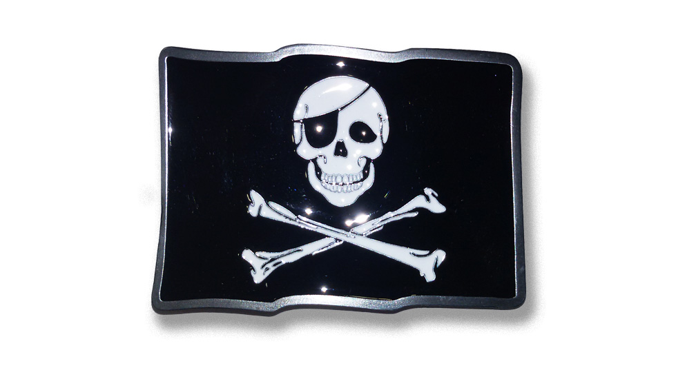 PIRATE FLAG Buckles