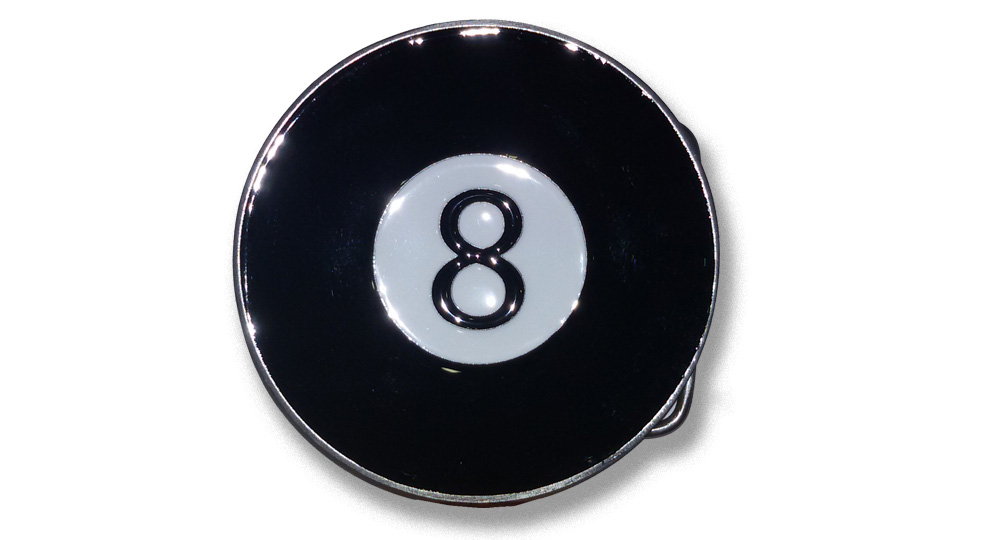 EIGHT BALL Buckles