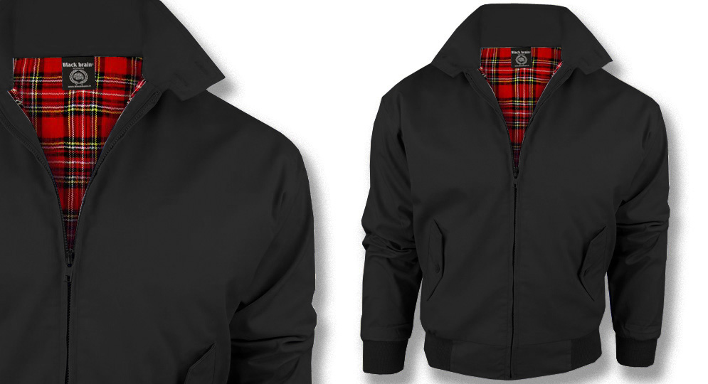 HARRINGTON JACKET BLACK Jackets