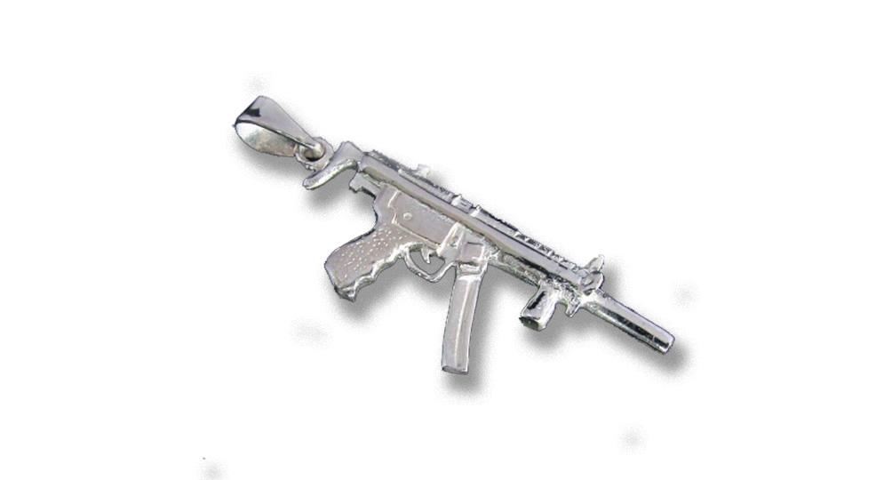 MACHINE GUN PENDANT Extras