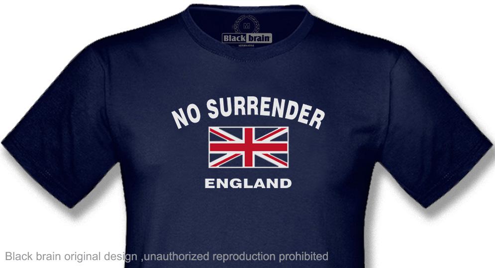 NO SURRENDER ENGLAND T-shirts