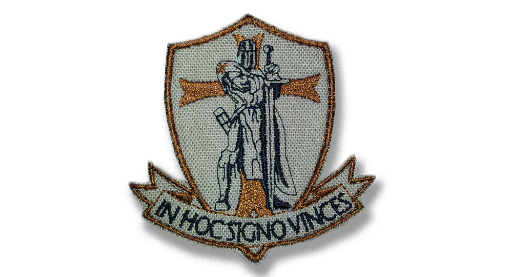 IN HOC SIGNO VINCES Patches