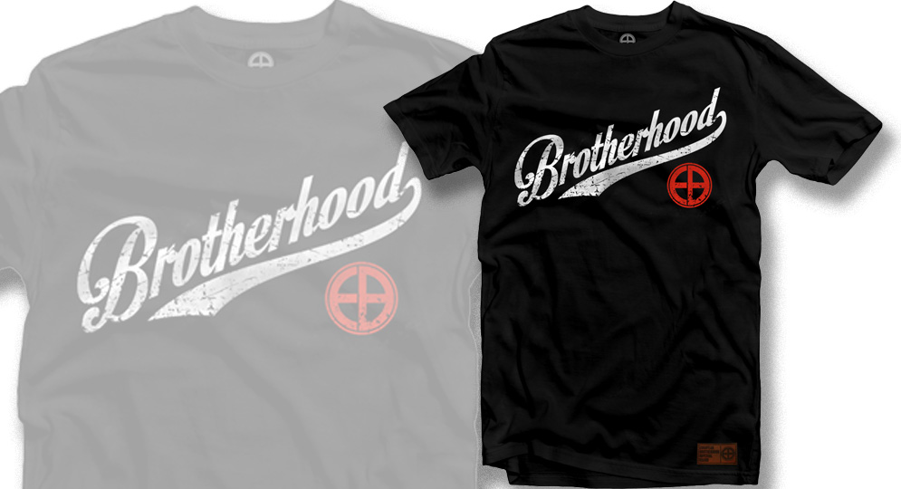 T-SHIRT BROTHERHOOD BLACK European Brotherhood
