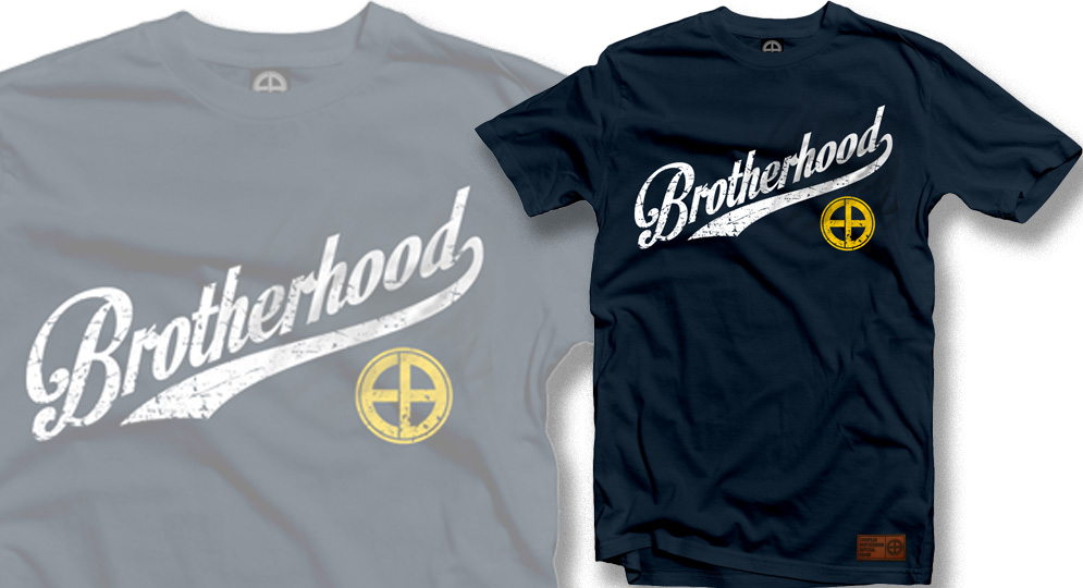 T-SHIRT BROTHERHOOD BLUE European Brotherhood
