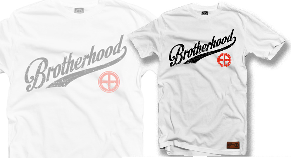 T-SHIRT BROTHERHOOD WHITE European Brotherhood