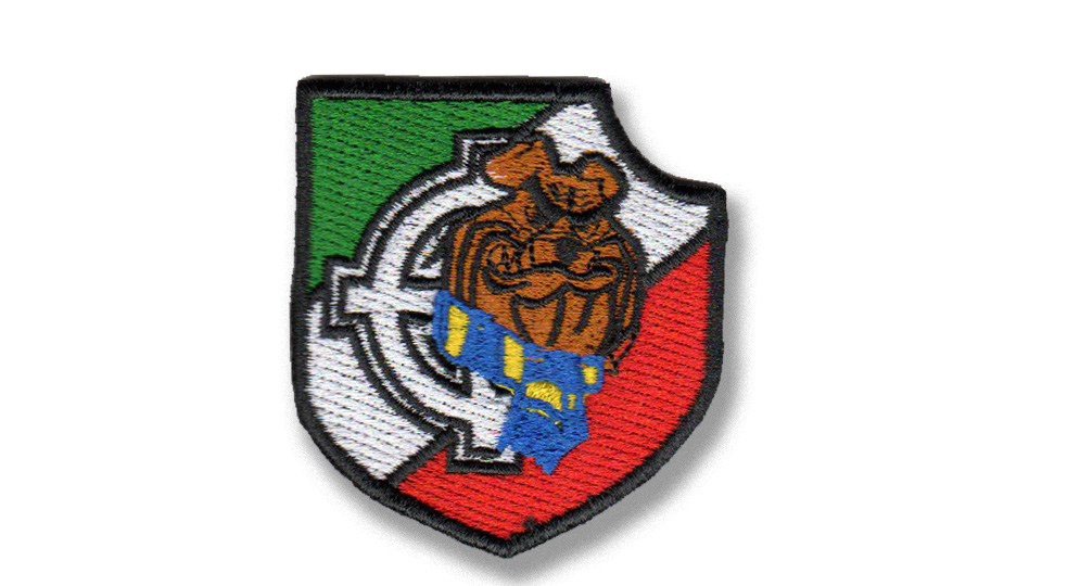 BULLDOG TRICOLORE CELTICA Patches