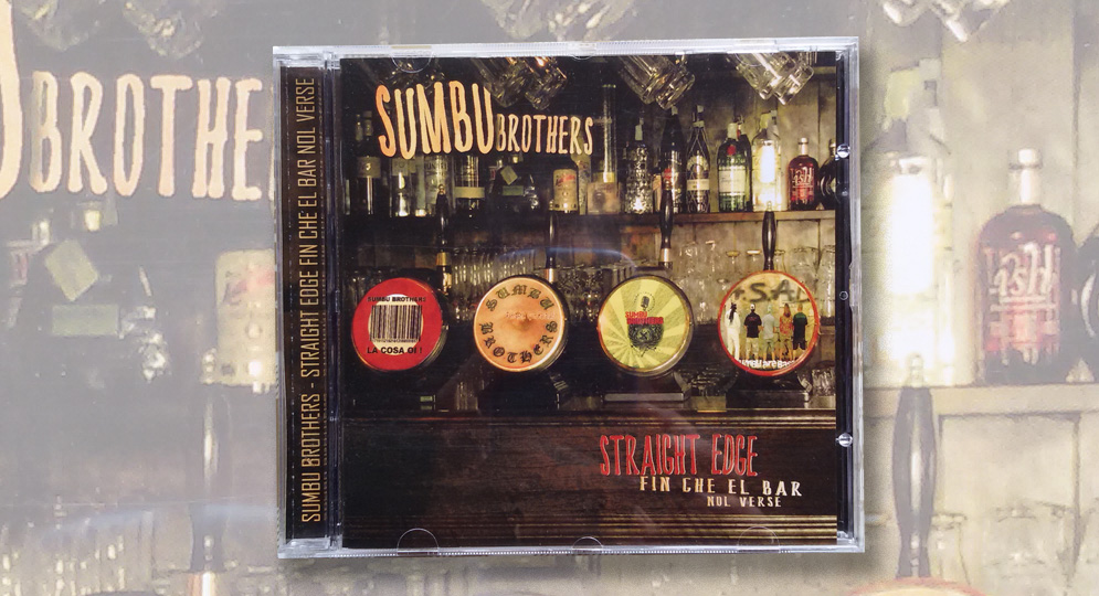 CD - SUMBU BROTHERS - STRAIGHT EDGE