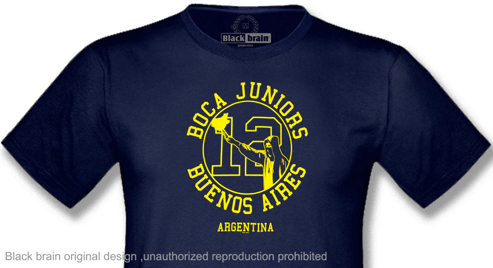 BOCA JUNIORS 12 T-shirts