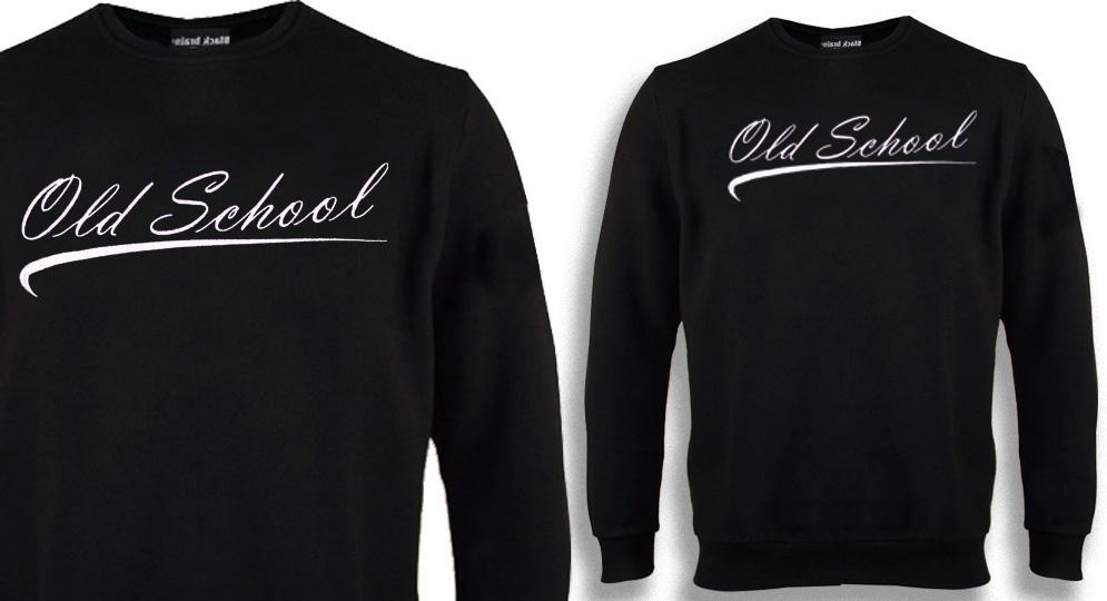 OLD SCHOOL EMBROIDERY Sweaters & Hoodies