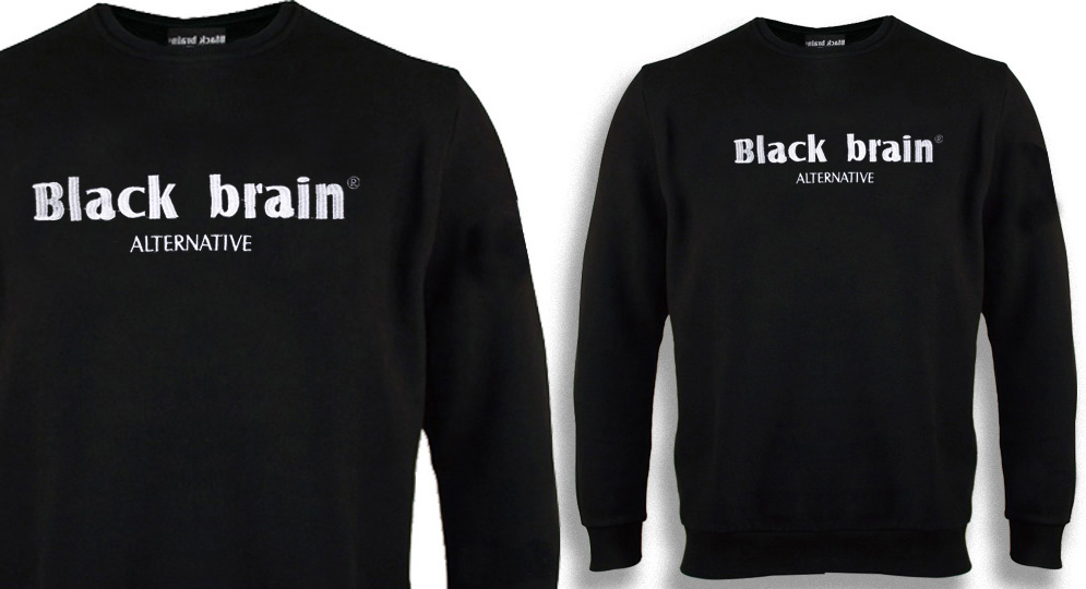 BLACK BRAIN SWEAT Sweaters & Hoodies