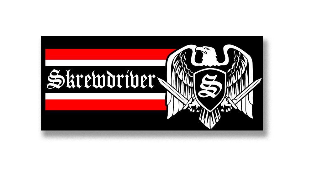 SKREWDRIVER Pins & Stickers