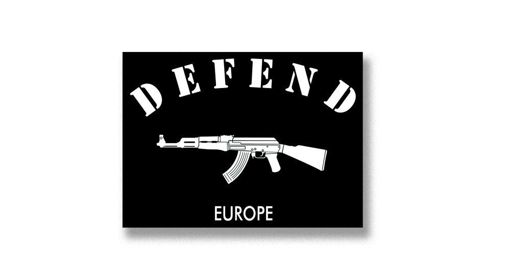 DEFEND EUROPE Pins & Stickers