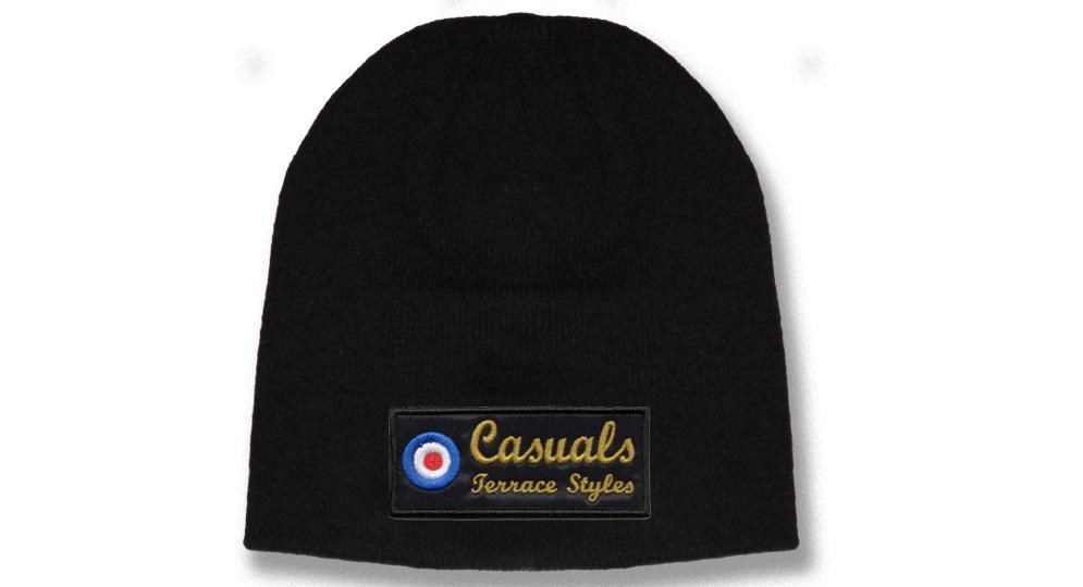 CUFFIA CASUALS TARTGET NERA Caps