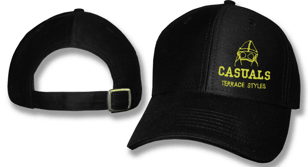 CAP CASUALS GOOGLE NERO Caps