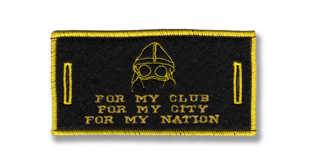 FOR MY CLUB,CITY,NATION LABEL FOR BUTTONS Patches