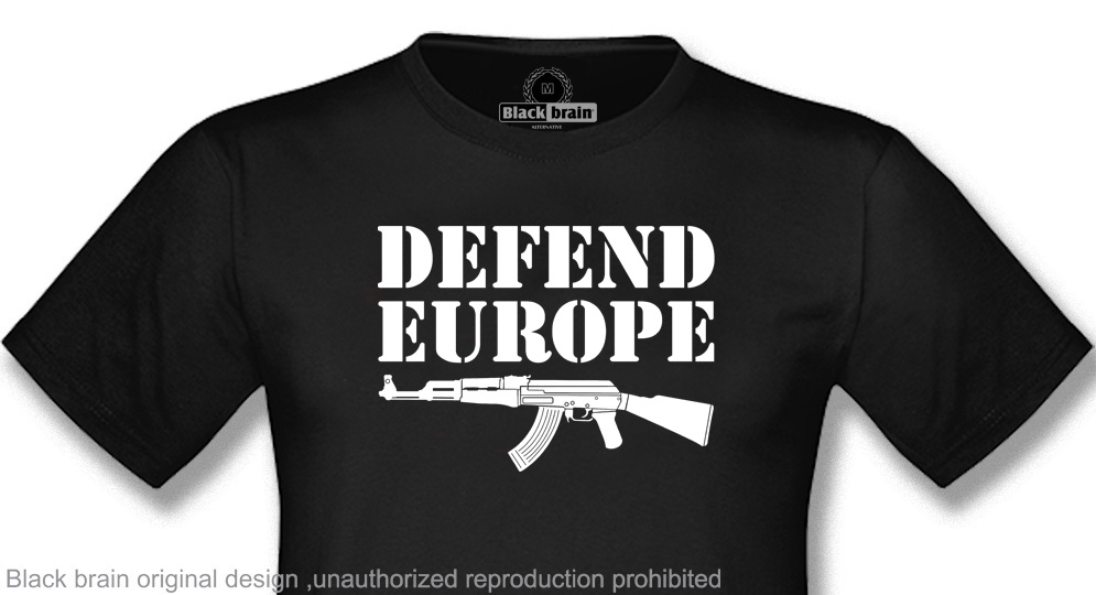 DEFEND EUROPE T-shirts
