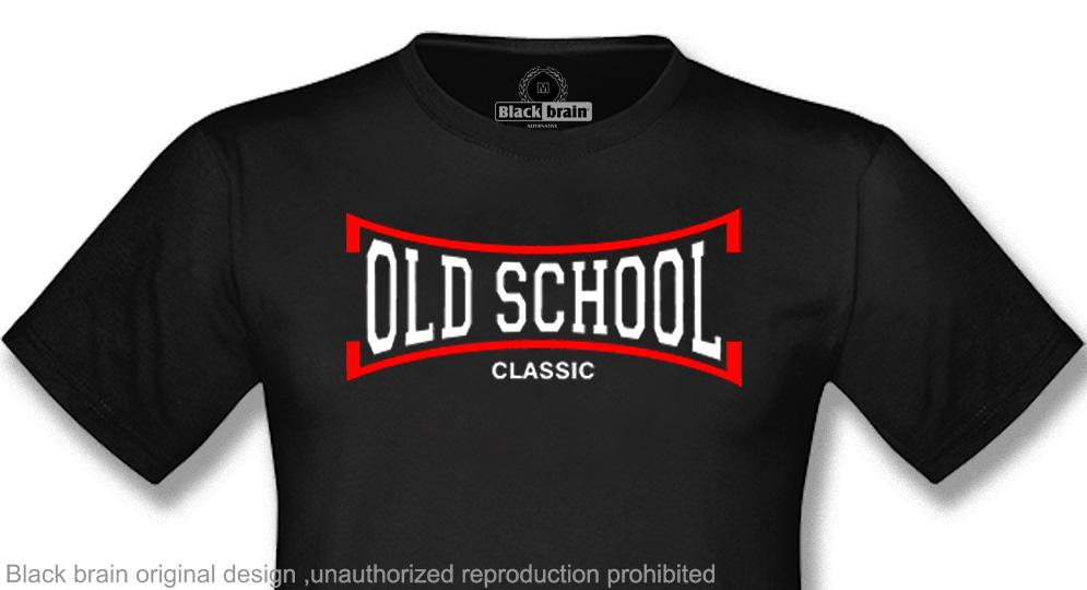 OLD SCHOOL CLASSIC T-shirts