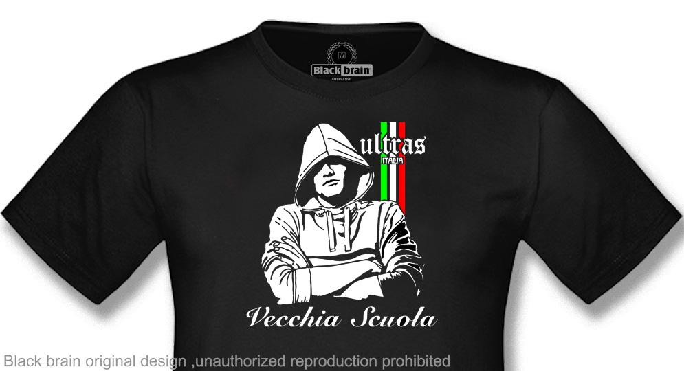 ULTRAS ITALIA VECCHIA SCUOLA T-shirts