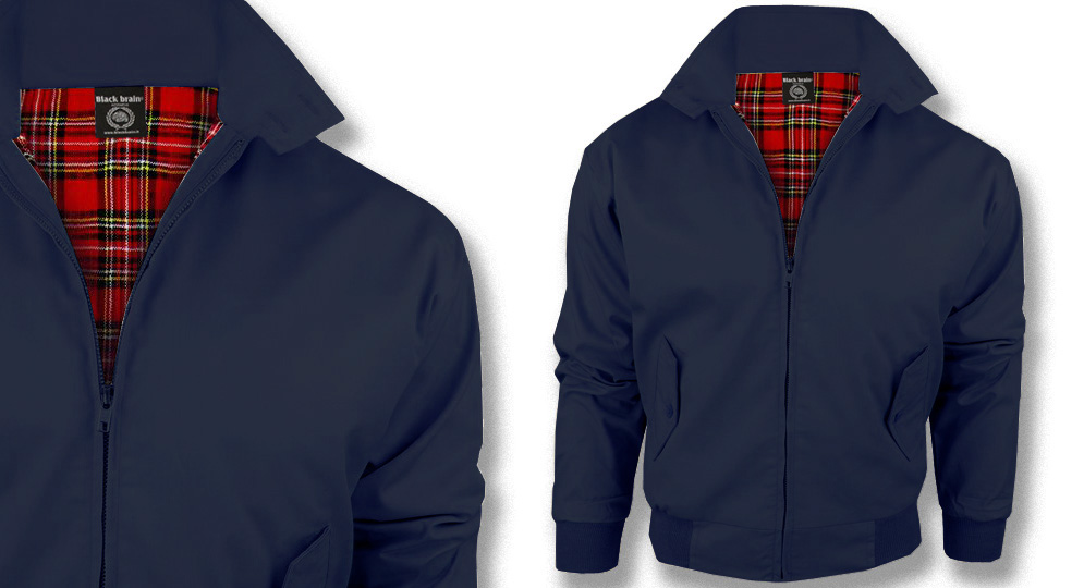 HARRINGTON JACKET BLUE