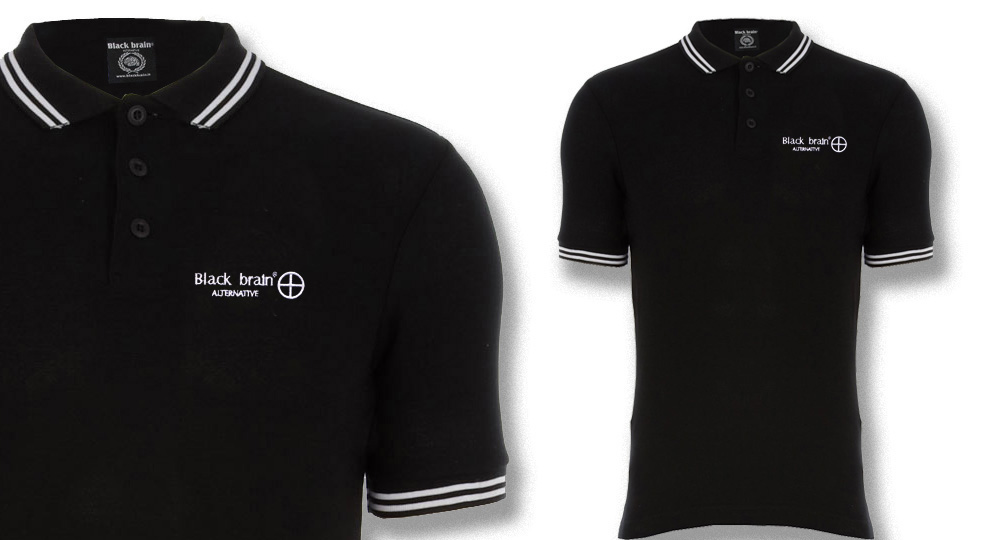 BLACK BRAIN CROSS Polos & Pullovers