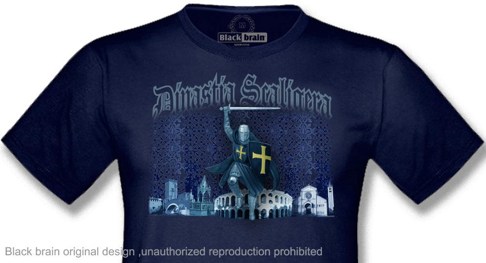DINASTIA SCALIGERA GUERRIERO T-shirts