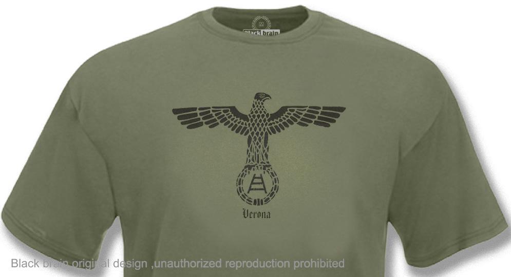 HELLAS AQUILA Verde Oliva T-shirts