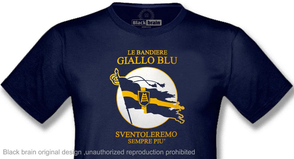 LE BANDIERE GIALLOBLU T-shirts