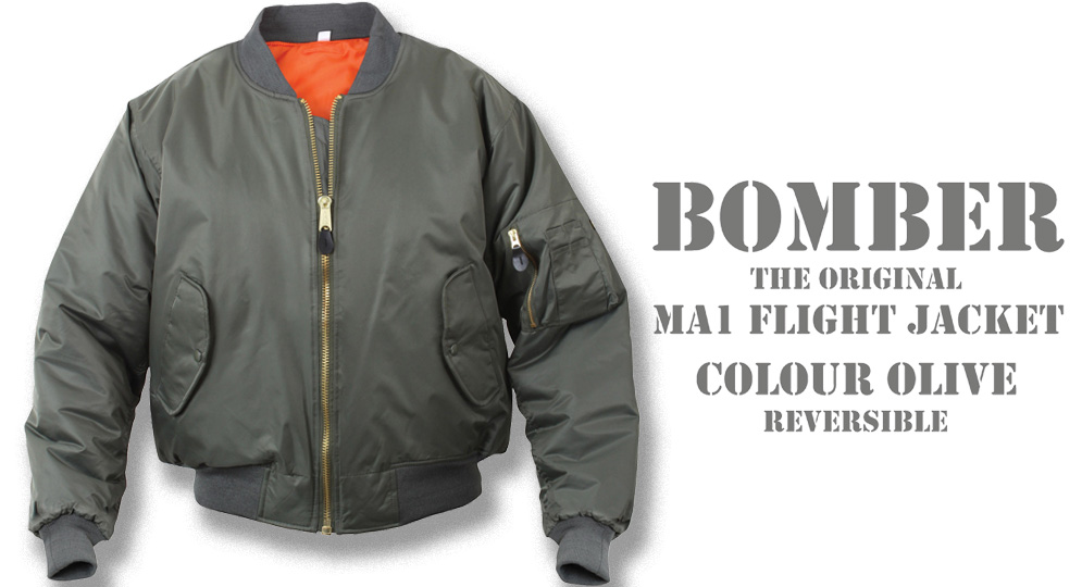 BOMBER OLIVE Jackets