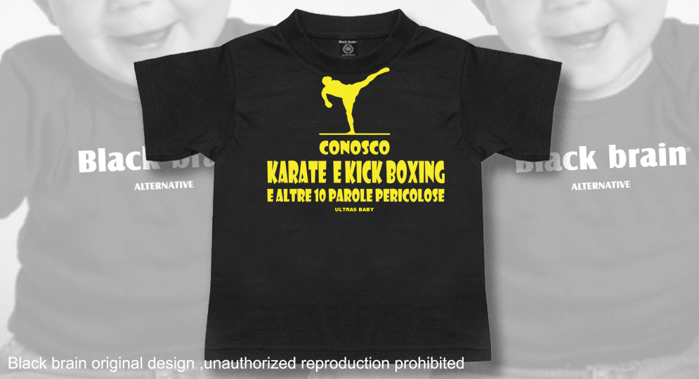 T-SHIRT KARATE E KICK BOXING Ultras Baby