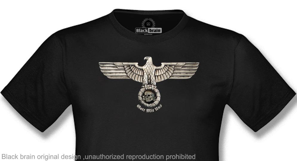 EAGLE AND SKULL GOTT MIT UNS T-shirts