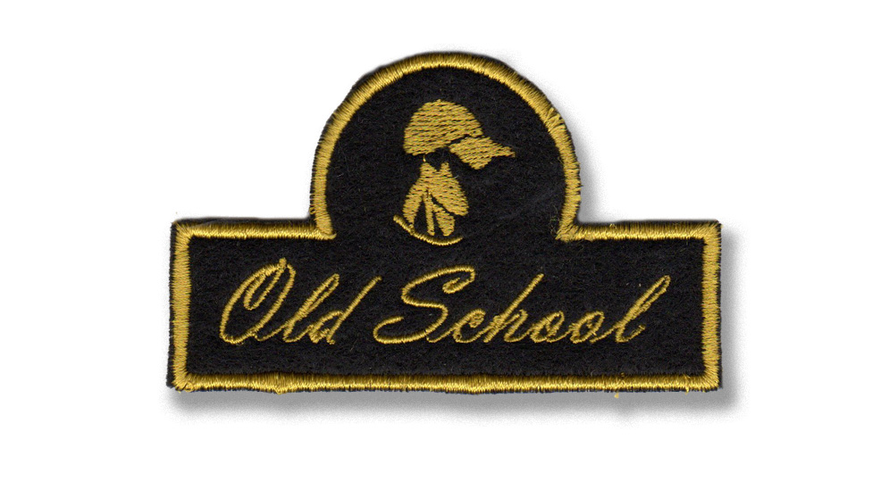 OLD SCHOOL CAP Patches
