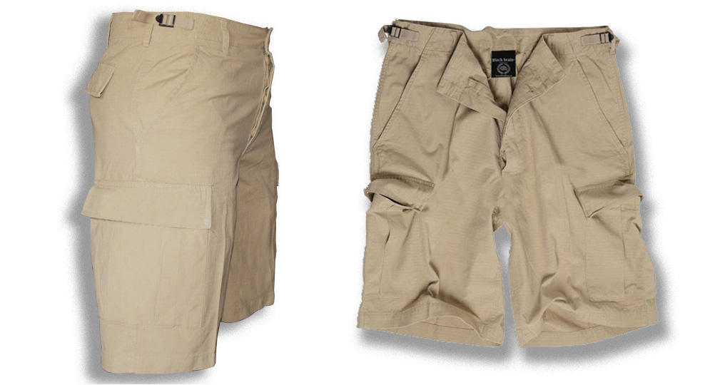 BERMUDA ARMY SAND Shorts & trousers