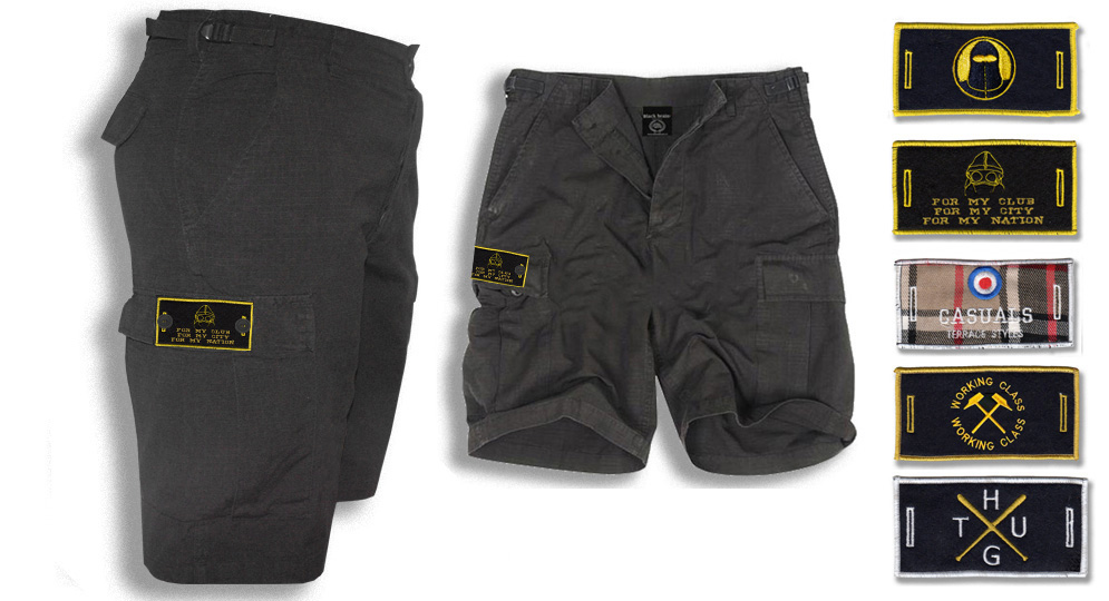 BERMUDA ARMY NERA BUTTON LABEL Shorts & trousers