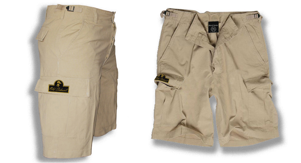 BERMUDA ARMY SAND OLD SCHOOL Shorts & trousers