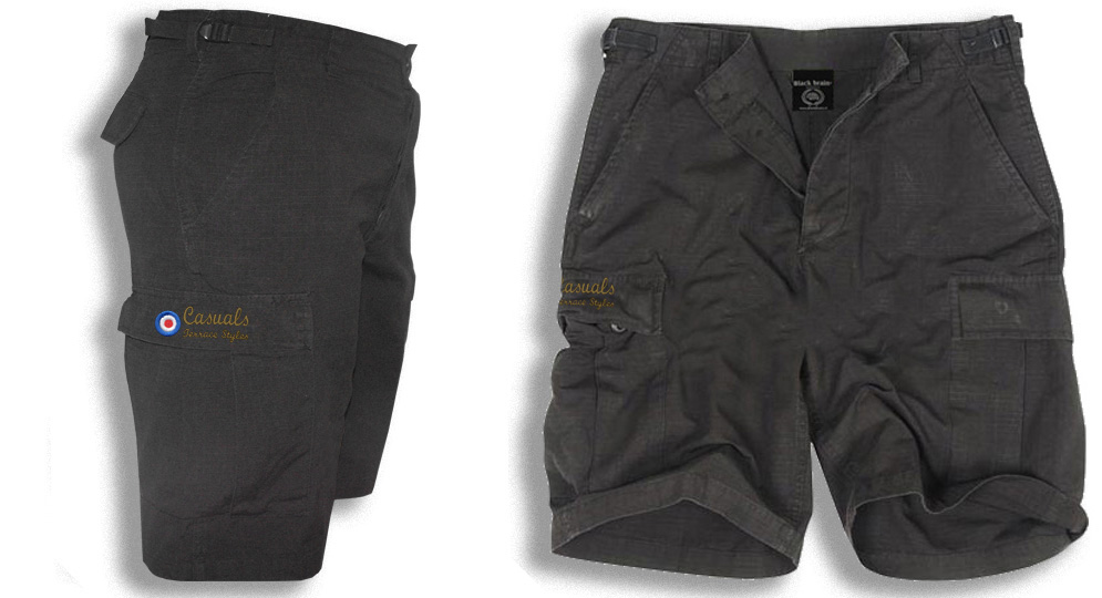 BERMUDA ARMY BLACK CASUALS TARGET Shorts & trousers