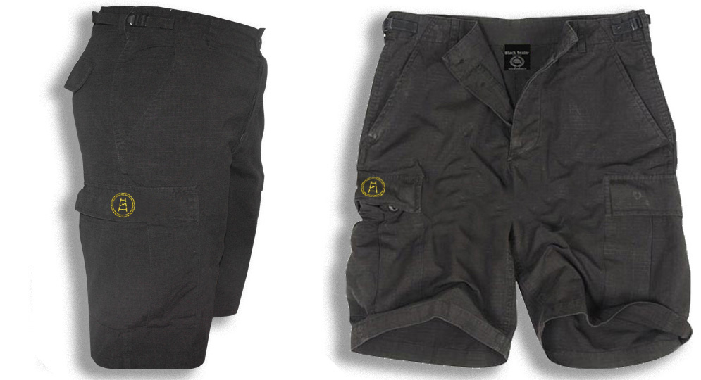 BERMUDA ARMY BLACK CORONA SCALA RUNA Shorts & trousers