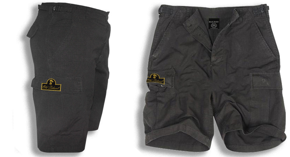 BERMUDA ARMY BLACK OLD SCHOOL Shorts & trousers