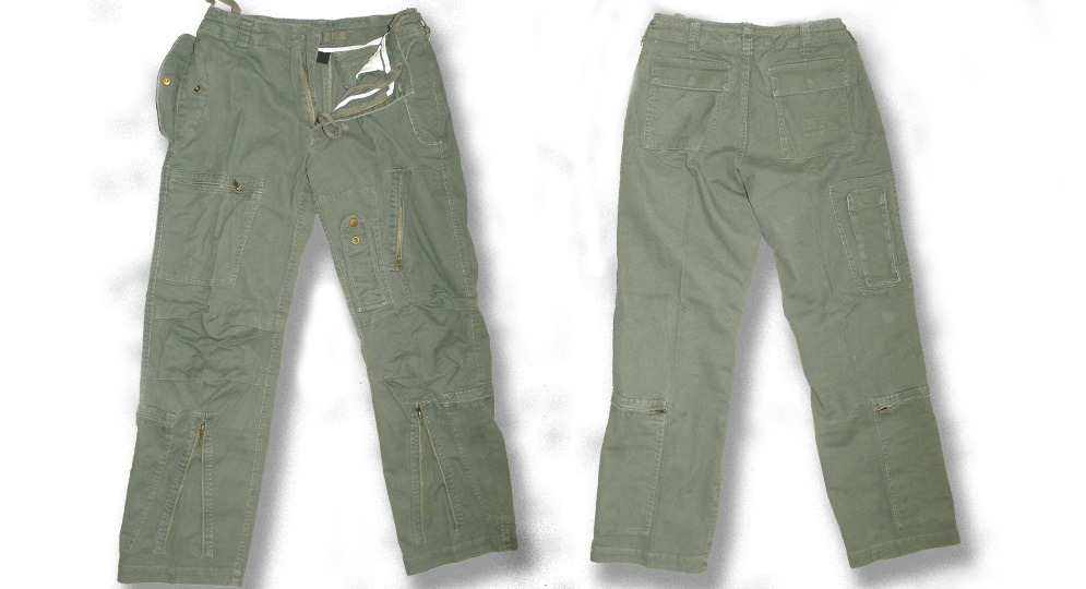 PANTALONE ARMY OLIVE Shorts & trousers