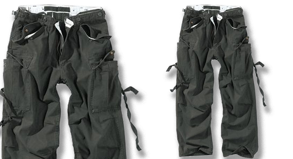 PANTALONE COMBAT BLACK Shorts & trousers