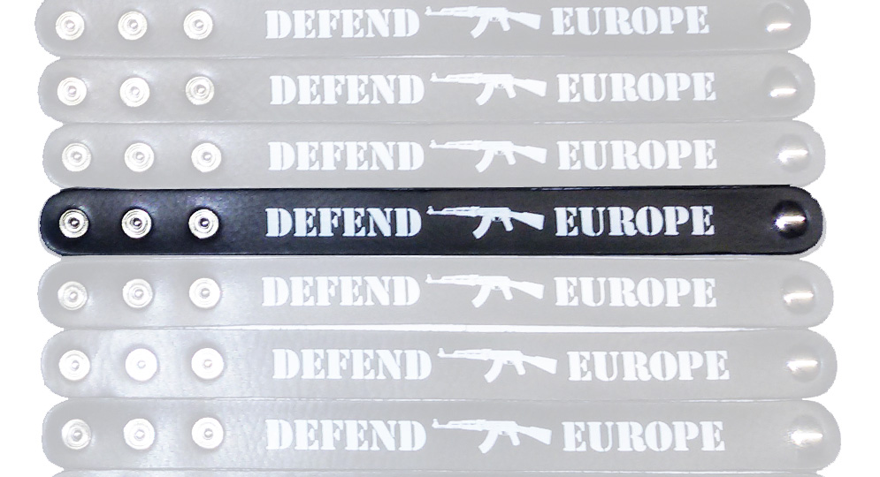 BRACCIALE DEFEND EUROPE Extras