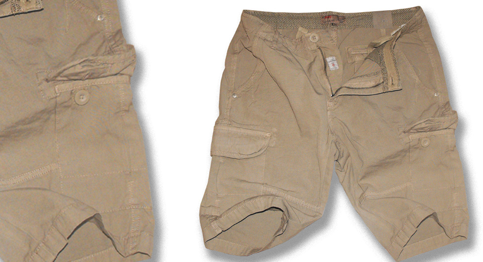 BERMUDA LEGION SAND Shorts & trousers