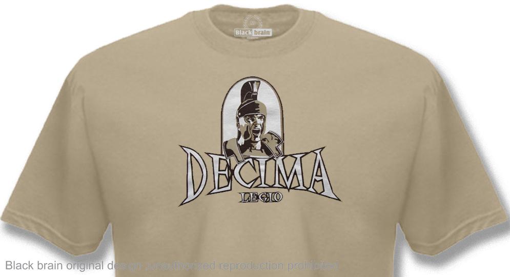 DECIMA LEGIO - Si Vis Pacem Para Bellum T-shirts