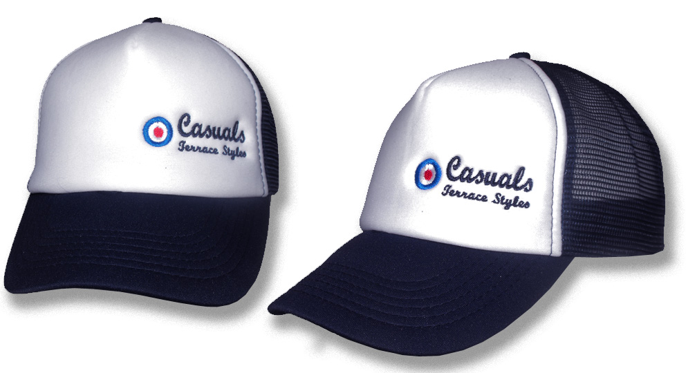 CAP TRUCKER CASUALS BLUE Caps